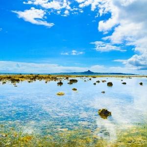 沖縄最西端ポイント